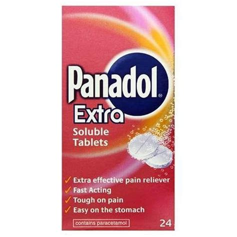 Panadol Soluble 1 4 Tablet pin by adam gallob on health personal care