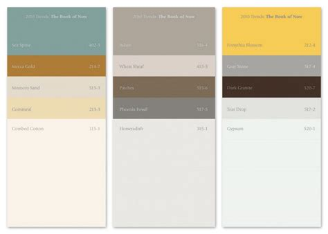 pittsburgh paints 2010 color palettes 4 bs room ideas