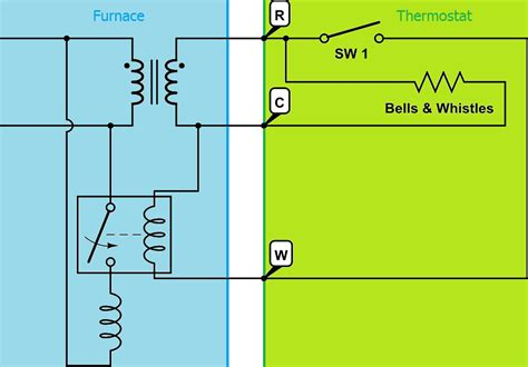 thermostat wiring schematic 24v get free image about