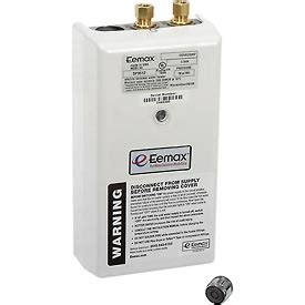 eemax sp3512 electric tankless water heater water heaters tankless water heaters electric eemax