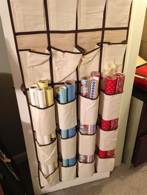 The Door Wrapping Paper Organizer by Pin By Simply In Order Chantal Imbach On Simply In Order