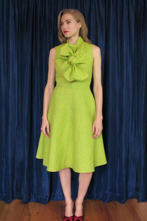 Pattern Magic Dress | pattern magic bow dress sewing projects burdastyle com