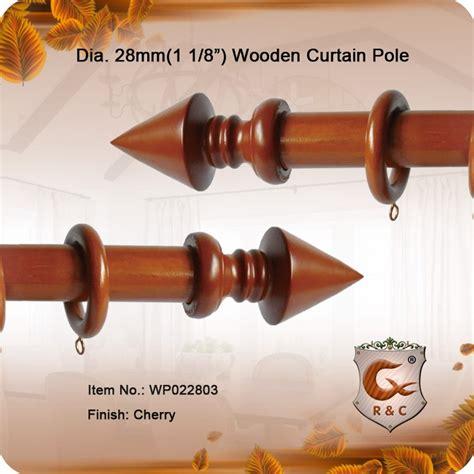 cherry wood curtain rods 28mm cherry round wooden curtain rod buy wooden curtain