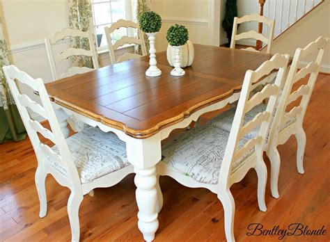 diy painted table legs bentleyblonde diy farmhouse table dining set makeover