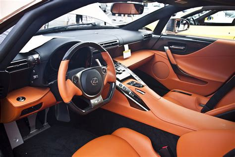 Lexus Lfa Interior by Pearl Brown Lexus Lfa 095