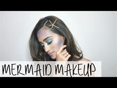 Mascara Duyung mermaid makeup tutorial 2016 nadya aqilla