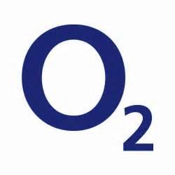 O blau mobilfunk logo highres blauer hintergrund highres weisser