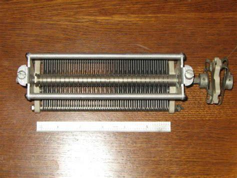 johnson variable capacitor eham net classifieds ef johnson variable capacitor with coupler