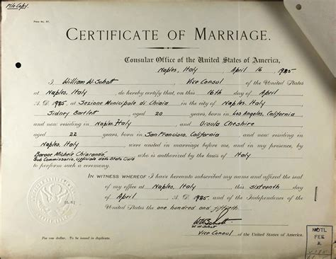 Record For Marriage Marriage Records