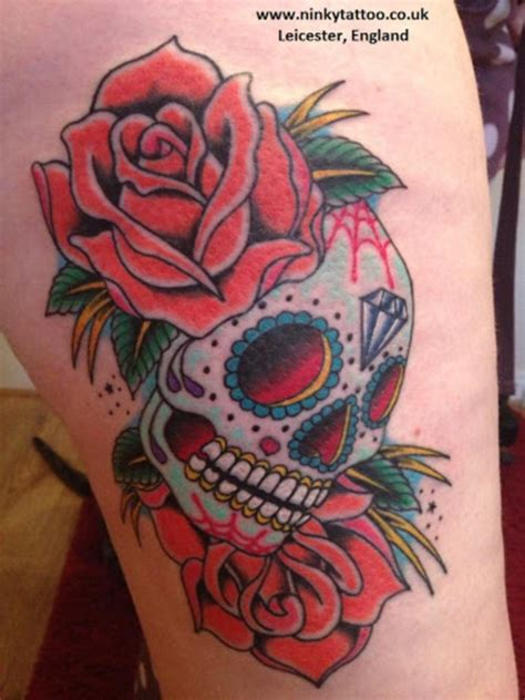 candy shop tattoo sugar skull picture at checkoutmyink