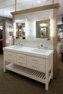 Vanity Table And Mirror Bertch Interlude Beach Style Bathroom New York By