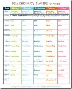homeschool schedule template daily homeschool schedule 2nd grade confessions of a