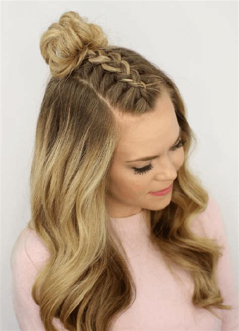 show me braid hair 36 curly prom hairstyles that will make heads turn more com