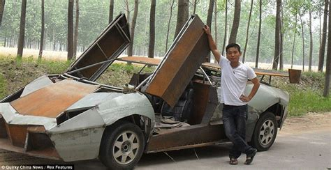 Building A Lamborghini Put The Pedal To The Scrap Metal Mechanic