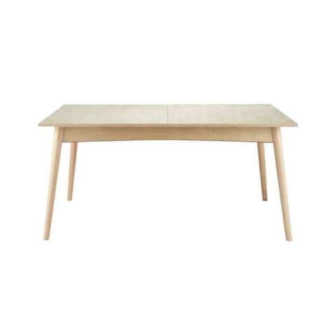 table de salle 224 manger 224 rallonges en bois l 160 cm