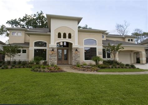 Westport Homes Houston Best 25 Stucco Houses Ideas On White Stucco