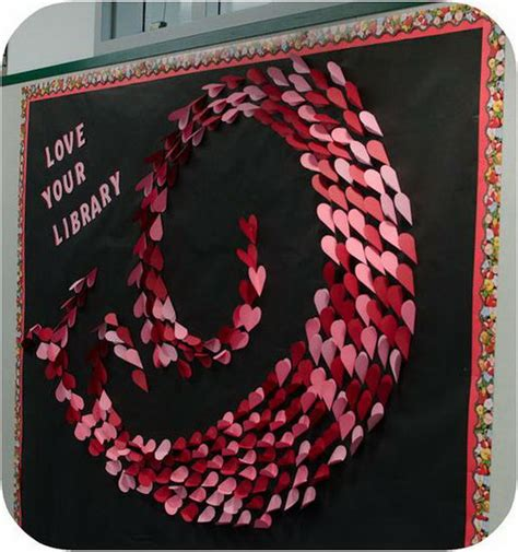 bulletin board ideas for valentines creative valentine s day bulletin board ideas hative