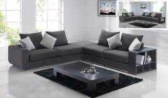 Comfortable Sectional Sofas Comfortable Linen Like Sectional In Grey With Add On Options Modern Sectional Sofas