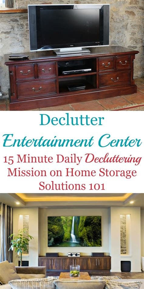 home storage solutions 101 how to declutter your entertainment center