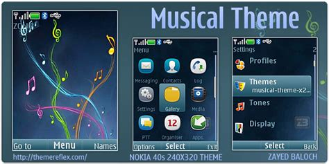 nokia c2 beautiful themes musical theme for nokia x2 240 215 320 themereflex