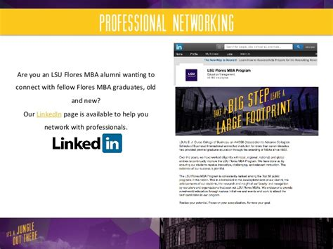 Lsu Mba by Lsu Mba Alumni Association
