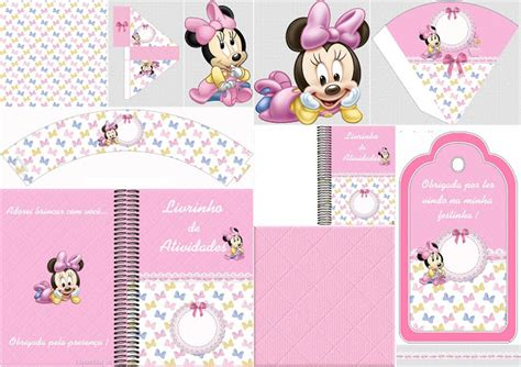 1st Birthday Decoration Ideas At Home by Lovely Minnie Baby Free Party Printables Oh My Baby