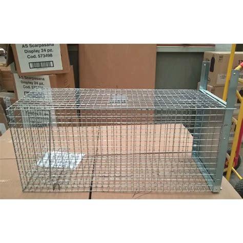gabbia cattura gatti gabbia per animali in metallo