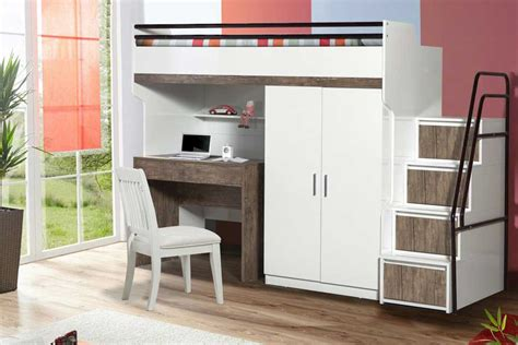 Bunk Bed Wardrobe Looking For Practical And Exclusive Space Saving Furniture