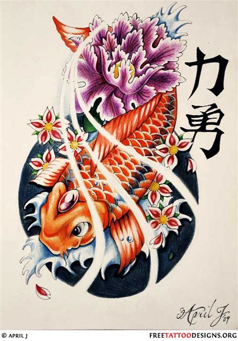 japanese koi fish tattoo design 40 koi fish tattoos japanese and designs