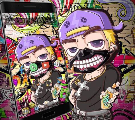 graffiti cartoon theme  android apk