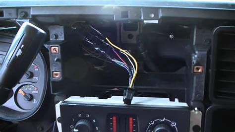 install  car stereo    silverado part