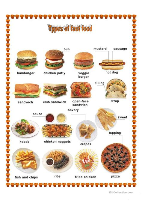 types of food different types of food worksheet free esl printable worksheets made by teachers