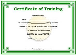 free templates for certificates free printable certificates templates word sle