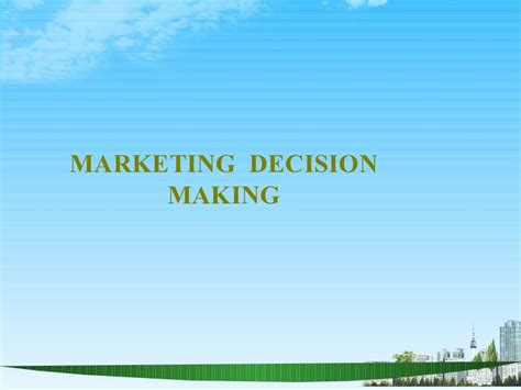 Service Marketing Ppt For Mba by Marketing Decision 2009 Ppt Bec Doms Bagalkot Mba
