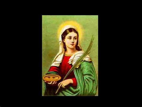 oracion a santa lucia patrona de la vista santa lucia patrona de la vista