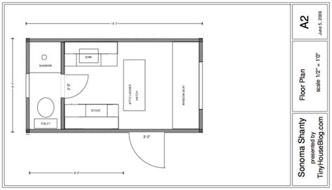 super small house plans sonoma shanty