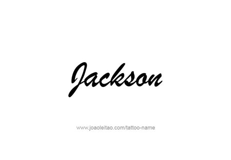 jackson usa capital city name tattoo designs tattoos