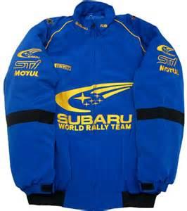 Subaru Rally Jacket Mjsb7108 Subaru Wrc Jacket Rally Blue Car Motorcycle