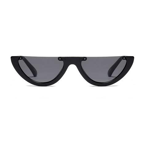 Half Frame Sunglasses peekaboo vintage half frame sunglasses sunglasses store