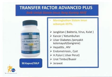 Tf Trifactor Plus Formula jual 4life transfer factor plus tri factor formula thai skincare ori