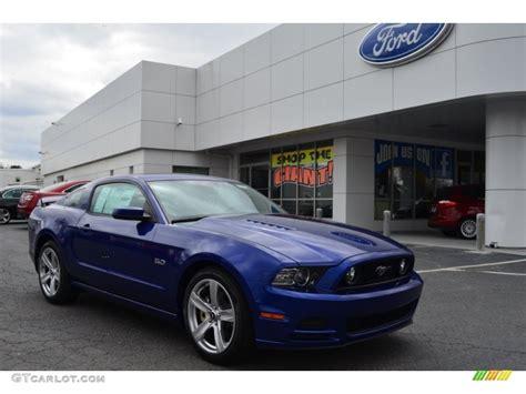 2013 mustang gt colors 2013 impact blue metallic ford mustang gt premium