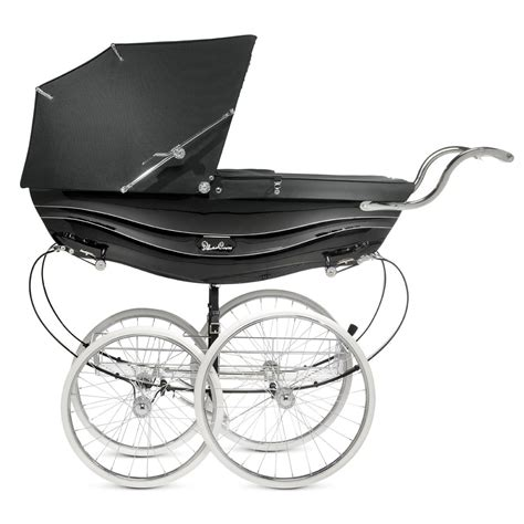 The Silver Cross the silver cross balmoral coach built pram shown here in