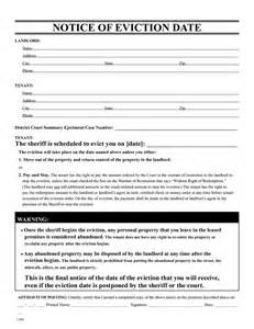 eviction notice template free eviction notice template printable eviction notice