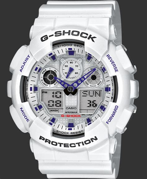 Casio G Shock Ga 100cm 4aer Army Merah s casio g shock ga 100 series camo 24 month premium care ebay