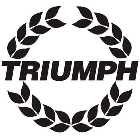 Aufkleber Triumph Logo by Triumph Logo 1 Irace Design
