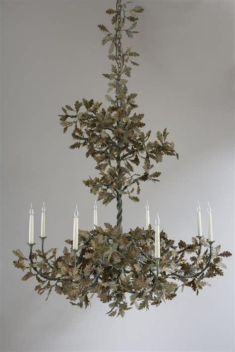 Leaf Chandelier Oak Leaf Chandelier Charles Saunders