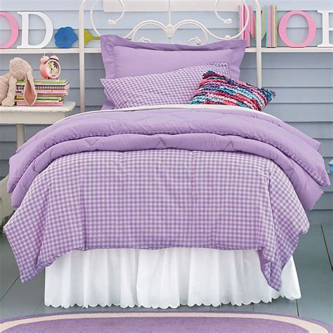 purple kids bedding company kids purple gingham bedding my pinkalicious girl
