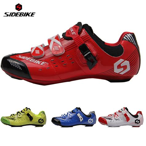 bike racing shoes sidebike professional bicycle cycling air flow vents soles