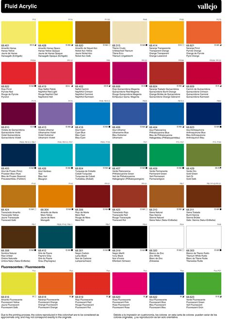 acrylic colors vallejo acrylic artist fluid colours shopping in