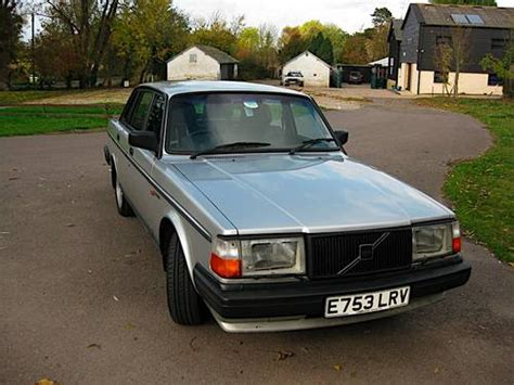 volvo 240 uk volvo 240 glt auto saloon sold 1988 on car and classic